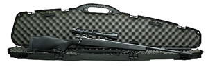 Weatherby Vanguard Syn Rifle Package VWP300NR4O, 300 Winchester Mag, Bolt Action, 24 in, Black Syn Stock, Black Finish, 3 + 1 Rd, w/Scope