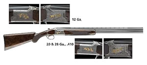 Browning Citori Grade VII Lightning Shotgun 013308914, 410 GA, Over/Under, 26 in BBL, 3 in Chmbr, American Walnut Stock, Blue Finish, 2 Rds, Inv Choke
