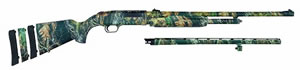 Mossberg Model 500 Super Bantam Shotgun 54141, 20 GA, Pump , 22 in Vent Rib & 24 in Rifled w/sights BBL, 3 in Chmbr, Adj. Syn Stock, Mossy Oak New Break-Up, 4 + 1 Rds, Accuchoke