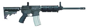 Bushmaster Modular Carbine BCWVMF16FMC, 223 Remington, Semi-Auto, 16 in, Telestyle Stock, Black Finish, 30 + 1 Rd