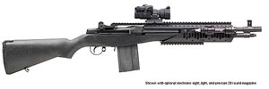 Springfield M1A Scout Socom II Rifle AA9629, 308 Winchester, Semi-Auto, 16 1/4 in, Black Syn Stock, Blue Finish, 10 + 1 Rd