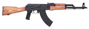 Century Arms GP WASR Rifle RI1188N, 7.62 X 39 MM, Semi-Auto, 16 1/4 in, Wood Stock, Parkerized Finish, 30 + 1 Rd, w/Bayonet, 2 Mags