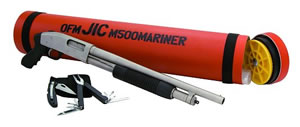 Mossberg Just In Case Mariner Shotgun 52340, 12 GA, Pump , 18 1/2 in BBL, 3 in Chmbr, Black Syn Stock, Marinecote Finish