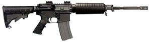 Bushmaster ORC Carbine 90391, 223 Remington, 16 in, 6 Pt Collapsible Stock, Black Finish, 30 + 1 Rd
