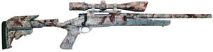 Howa Axiom Varminter Rifle HWK97102+, 308 Winchester, Bolt Action, 24 in Heavy, Syn Stock, Camo Finish, 4 + 1 Rd