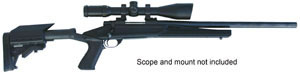 Howa Axiom Varminter Rifle HWK95121+, 223 Remington, Bolt Action, 20 in Heavy, Adj Knoxx Axiom w/Pistol Grip, Black Finish, 5 + 1 Rd