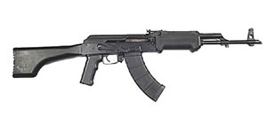 Inter Ordnance Model AK47C Rifle AK470005, 7.62X39mm, Semi-Auto, 16 1/4 in BBL, Black Syn Stock, Black Finish, 30 + 1 Rd