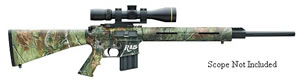 Remington Model R15 VTR Hunter Rifle 60100, 30 Remington AR, Semi-Auto, 22 in, APG Camo HD Stock, Matte Blue Finish, 4 + 1 Rd, Pistol Grip