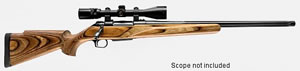 Thompson Center Icon Precision Hunter Centerfire Rifle 5583, 243 Winchester, Bolt Action, 22 in Heavy, Walnut Stock, Blue Finish, 3 + 1 Rd