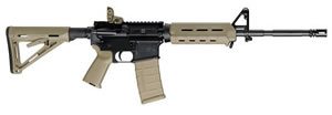 Smith & Wesson Model M&P 15 MOE Rifle 811021, 223 Rem./5.56 Nato, Semi-Auto, 16 in, Collapsible Stock, Dark Earth Finish, 30 + 1 Rd