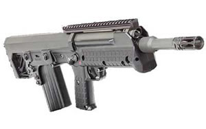 Kel-Tec RFB Forward-Ejection Bullpup HE Rifle RFB18, 7.62 Nato, Semi-Auto, 18 in, Black Syn Stock, Black Finish