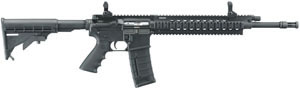 Ruger Model SR-556FB M4 Type Rifle 5902, 223 Rem./5.56 Nato, Semi-Auto, 16 in, 6 Pt Collapsible Stock, Black Finish, 30 + 1 Rd