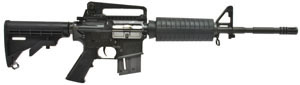 Umarex Colt M4 Carbine 2245060, 22 Long Rifle, Semi-Auto, 4 Point Collapsible Stock, Black Finish, 10 + 1 Rds