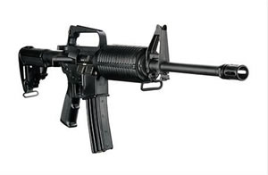 DPMS Panther Lite 16 Rifle RFA2L16, 223 Remington/5.56 NATO, Semi-Auto, 16 in BBL, Collapsible Stock, Black Finish, 30 + 1 Rd