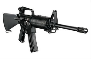 DPMS Panther Classic Rifle RFA216, 223 Remington/5.56 NATO, Semi-Auto, 16 in BBL, Fixed Position Stock, Black Finish, 30 + 1 Rd
