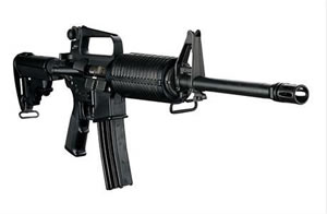 DPMS Panther Carbine RFA2PCAR16, 223 Remington/5.56 NATO, Semi-Auto, 16 in BBL, Black Syn Collapsible Stock, Black Finish, 30 + 1 Rd