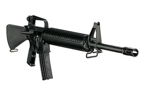 DPMS Panther Classic Rifle RFA2C, 223 Remington/5.56 NATO, Semi-Auto, 20 in BBL, A2 w/Trapdoor Stock, Black Finish, 30 + 1 Rd