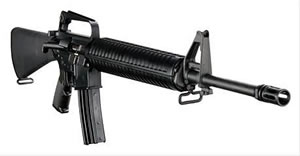 DPMS Panther Lite Rifle RFA1L20, 223 Remington/5.56 NATO, Semi-Auto, 20 in BBL, A2 w/Trapdoor Stock, Black Finish, 30 + 1 Rd