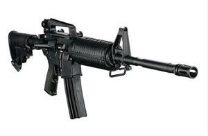 DPMS Panther AP4 Special Carbine RFA2AP468, 6.8mm Remington, Semi-Auto, 16 in BBL, 6 Pos Telestock, Black Finish, 25+1 Rd
