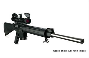 DPMS Panther Rifle RFLR65, 6.5 Creedmoor, Semi-Auto, 24 in BBL, A2 w/Trapdoor Stock, Black Finish, 19 + 1 Rd