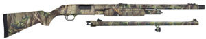 Mossberg Model 500 Combo Shotgun 54266, 12 GA, Pump, 24 in VR & 24 in Fluted BBL, 3 in Chmbr, Realtree Hardwood HD Green, 5 + 1 Rds