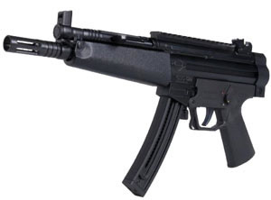 GSG Model 522 Carbine 522CB22, 22 Long Rifle, Semi-Auto, Fixed Pos Stock, Black Finish, 22+1 Rds