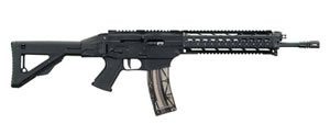 Sig Sauer 522 Swat Rifle R52216BCS, 22 Long Rifle, 16 in, Semi-Auto, Collapsible & Folding Stock, Black Finish, 25+1 Rds, Rail