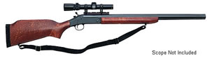 H&R Ultra Slug Gun SB2980, 12 GA, Break Open Act , 24 in BBL, 3 in Chmbr, Walnut Stock, Blue Finish, 1 Rds