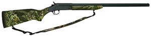New England Pardner Single Shot Turkey Shotgun SB1F12, 12 GA, Break Open Act , 24 in BBL, 3 1/2 in Chmbr, Syn, Mossy Oak New Break-Up Stock, Black Finish, 1 Rds