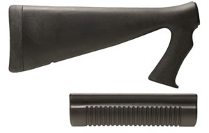 Speedfeed 0260C Speedfeed IV Tactical Stock Set For Remingington 870, Black