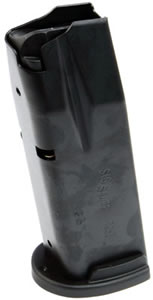 Sig Sauer MAG250SC4013X Magazine, P250, 40 Smith & Wesson, 13 Rd, Black, Sub