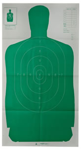 Champion 40735 Law Enforcement B27FSA Targets, 10 Ct