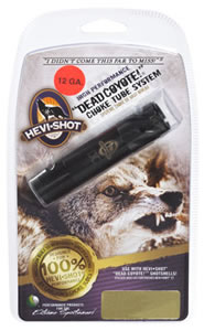 Hevishot Choke Tube 670121, 12 Gauge, Extreme Range, Remington, Black, Dead Coyote