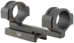 Trijicon TR124 AccuPoint 1 in Quick Release Flattop Mount