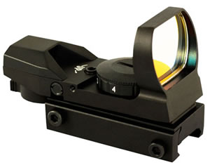Aim Sports RT4-01 Red Dot Sight 4 Reticles