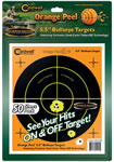 Caldwell 555-050 Orange Peel Targets, 50 Sheets