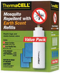 Thermacell E4 Mosquito Repellent Refill, Earth Scent Value Pk