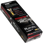 Winchester Varmint HE Ammunition S22LRFSP, 22 Long Rifle, Hollow Point 3/1 Seg Core, 37 GR, 1435 fps, 50 Rd/bx