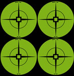 Birchwood Casey 33933 Target Spots Green, 3 in, 40 Ct