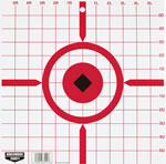 Birchwood Casey 37210 Rigid Paper Target, 12 in, Sightin, 10 Ct