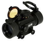 Aim Sports RTD130 Red Dot Sight R&G 4 Reticles, 1x30
