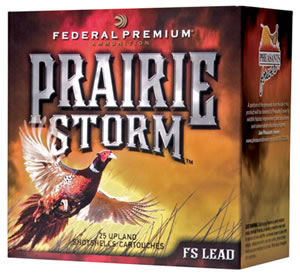 Federal Prairie Storm FliteControl PF204FS6, 20 Gauge, 2 3/4 in, 1 oz, 1350 fps, #6 Lead Shot, 25 Rd/Bx, Case of 10 Boxes