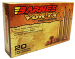 Barnes VOR-TX Safari Ammunition 22029, 458 LOTT, Round Nose Band Solid, 500 GR, 20 Rd/Bx