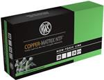 RWS Copper Matrix NTF Ammunition CM223, 223 Rem, Non Toxic/Frangible, 42 GR, 3270 fps, 20 Rd/bx