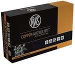 RWS Copper Matrix NTF Shotgun Shells CMSLUG, 12 Gauge, 2.75 in, 375 grs, 1404 fps, Slug NTF Shot , 5 Rd/bx