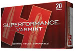 Hornady Superformance Ammunition 83366, 22-250 Remington, V-Max, 50 GR, 4000 fps, 20 Rd/bx