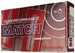 Hornady Superformance Ammunition 80964, 308 Winchester, AMAX Match, 168 GR, 2840 fps, 20 Rd/bx