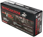 Winchester Power Max Bonded Ammunition X223R2BP, 223 Remington, Power Max Bonded, 64 GR, 3020 fps, 20 Rd/bx