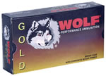 Wolf Gold Ammunition G6.5GRENSP1, 6.5 Grendel, Soft Point, 123 GR, 2600 fps, 20 Rd/bx
