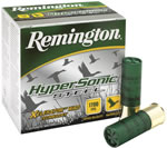 Remington HyperSonic Steel Shotgun Shells HSS20M4, 20 Gauge, 3 in, 1 oz, 1600 fps, #4 Steel Shot, 25 Rd/bx, Case of 10 Boxes